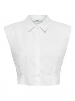 TOP ONLSIA CROPPED ONLY BLANCO