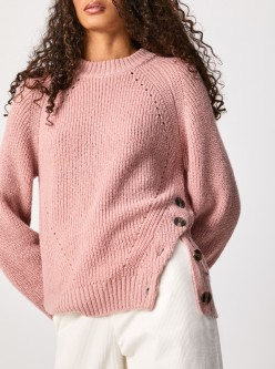 JERSEY ORCHED PEPE JEANS ROSA