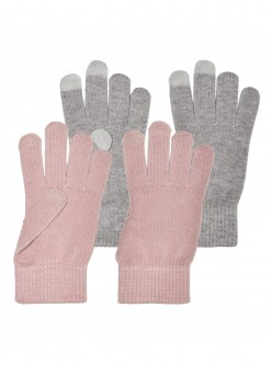 PACK GUANTES MAGIC ONLY ROSA/GRIS